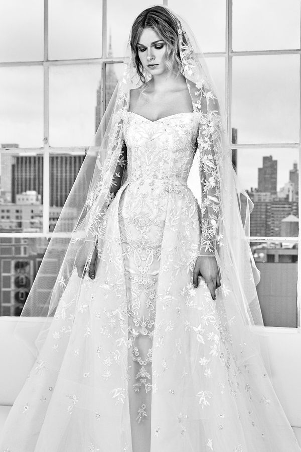 Suknie ślubne na wiosnę/lato 2018 od Zuhaira Murada - zakochacie się bez pamięci