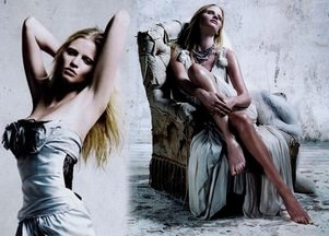 Lara Stone w chińskim Vogue'u (FOTO)