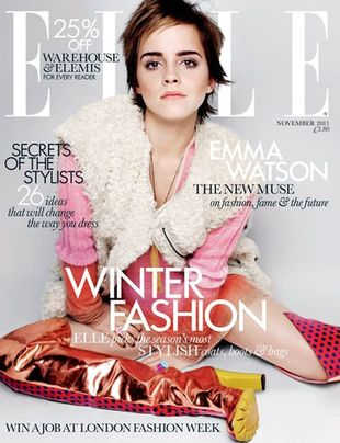 Emma Watson ponownie dla Elle UK