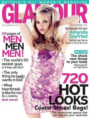 Amanda Seyfried w Glamour