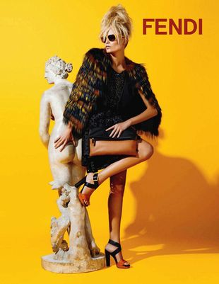 Natasha Poly w kampanii Fendi (FOTO)