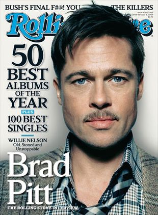 Brad Pitt dla Rolling Stone
