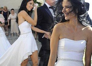 Paulina Sykut w sukni od Bohoboco