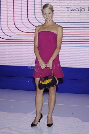Małgorzata Kożuchowska w sukience Dawida Wolińskiego (FOTO)