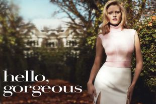 Lara Stone szczerze dla Vogue