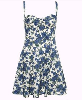 Letnia sukienka od Topshop