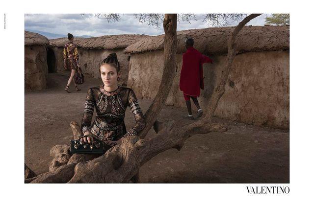 Afrykańskie klimaty w wiosenno-letniej kampanii Valentino