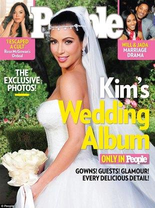 Projekty sukni ślubnych Kim Kardashian (FOTO)