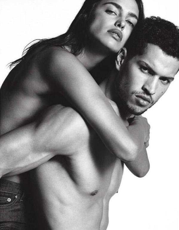 Seksowna NAGA Irina Shayk w reklamie Givenchy Jeans (FOTO)