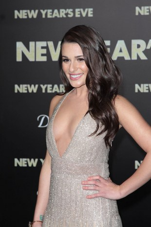 Lea Michele uwodzi w Valentino