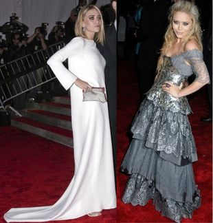Ashley i Mary-Kate Olsen na Costume Institute
