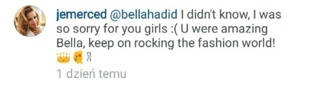 Bella Hadid była wściekła na Jessikę Mercedes! (FOTO)