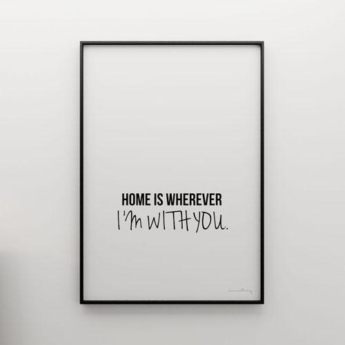 Hit do wnętrza: plakaty z sentencjami