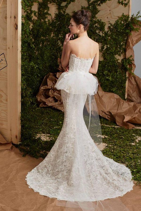 Cudowna kolekcja sukien ślubnych na 2017 od Caroliny Herrery