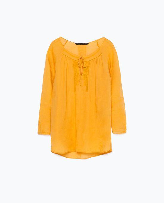Zara Online - Nowa kolekcja na lato Saffron Summer (FOTO)