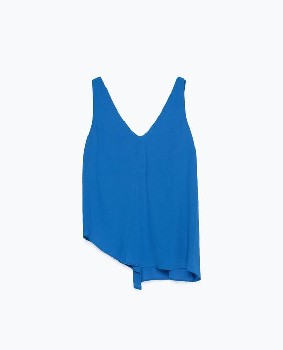 Zara Online - Nowa minikolekcja z akentami Electric Blue