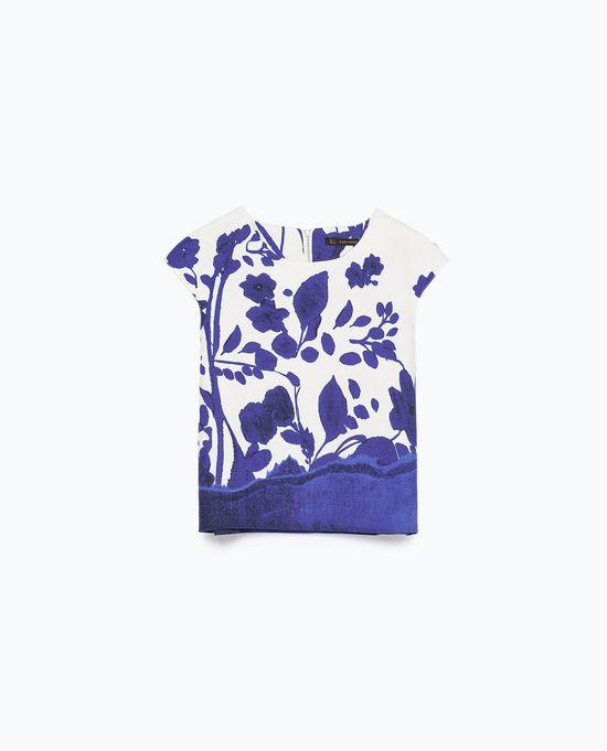 Zara Online - Kwiaty i pastele w nowościach sieciówki