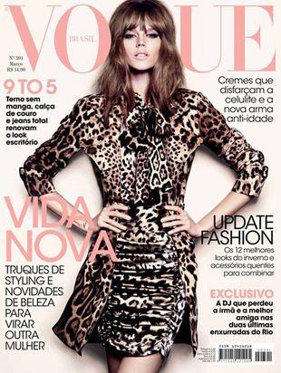 Freja Beha w Vogue Brasil