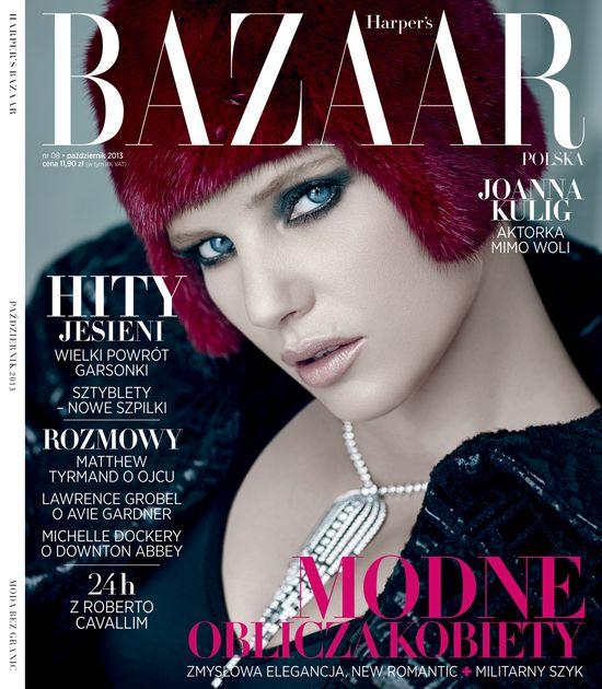 O czym przeczytamy w październikowym Harper's Bazaar