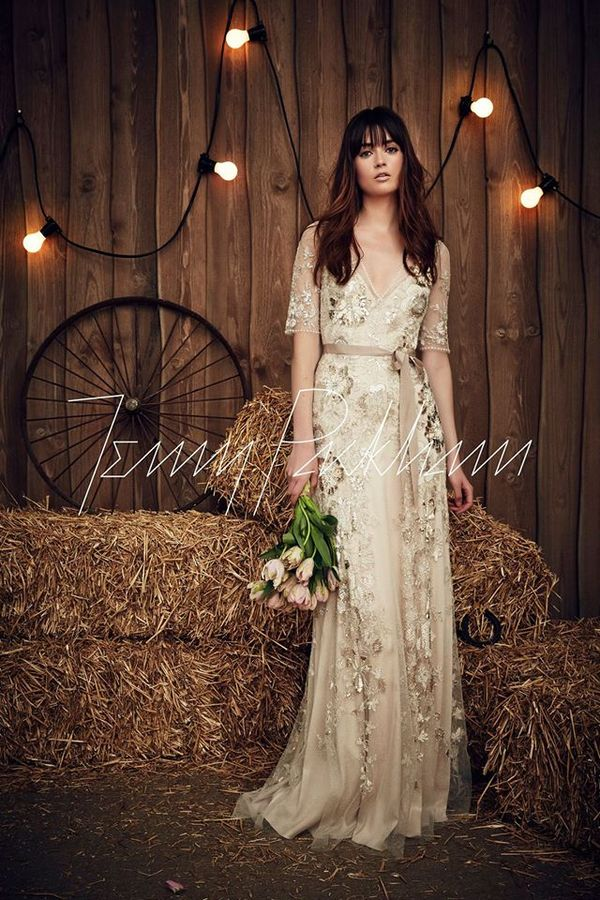 Cudowne suknie ślubne na wiosnę 2017 od Jenny Packham