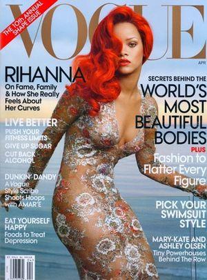 Rihanna na okładce American Vogue (FOTO)