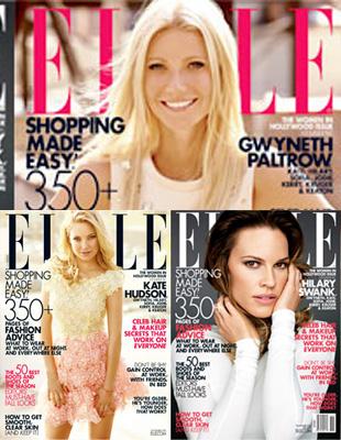 Hollywoodzkie aktorki na okładce Elle