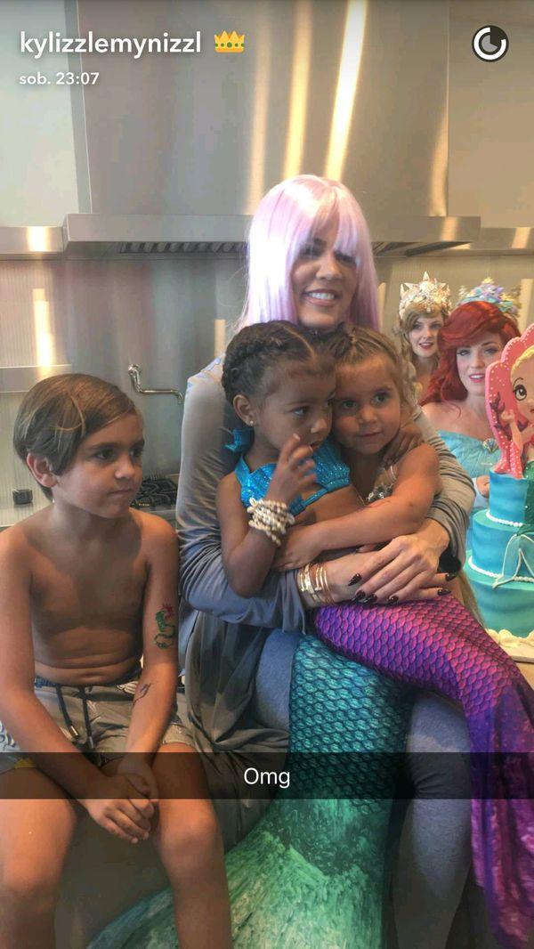 North West i Penelope Disick i urodziny, o których marzy każda dziewczynka