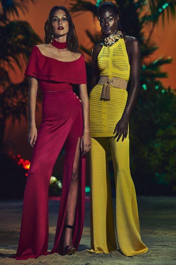 Czapki z głów! Zobaczcie kolekcję Resort 2017 od Balmain
