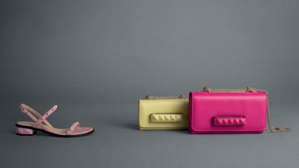 Kolorowe akcesoria Valentino wiosna 2013