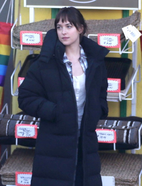 Dakota Johnson - filmowa Anastasia Steele