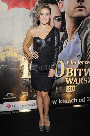 Natasza Urbańska na pokazie Bitwy Warszawskiej (FOTO)
