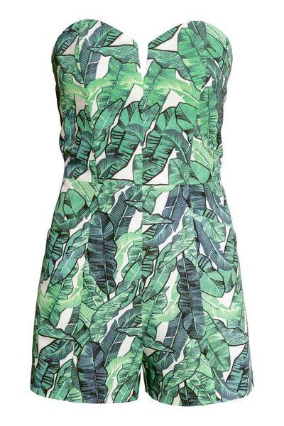 H&M Miejskie Tropiki, czyli roślinne akcenty w modzie