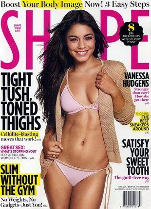 Vanessa Hudgens na okładce magazynu Shape