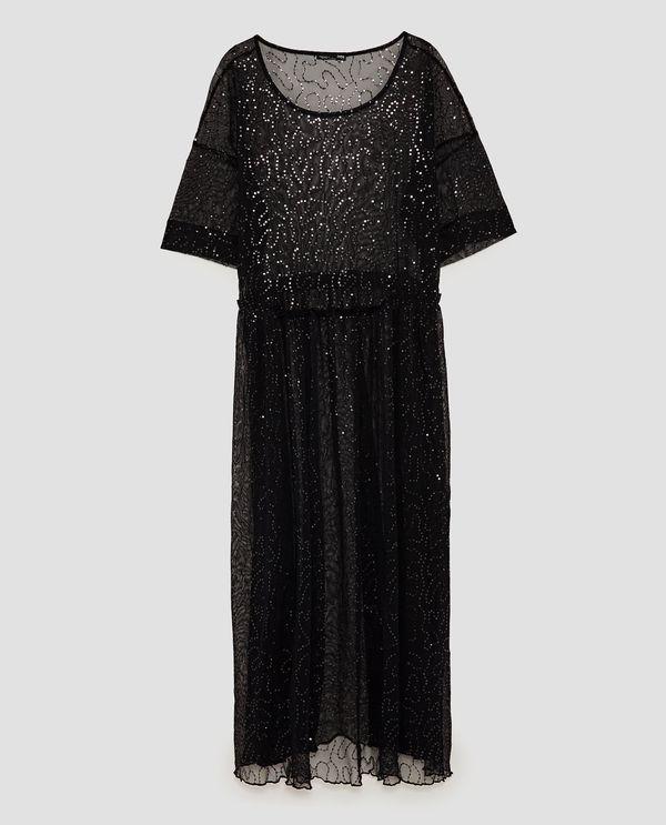 Sylwestrowa sukienka last minute - co znajdziemy na wyprzedaży w Zarze? (FOTO)