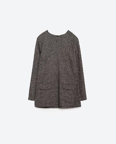 Nowości Zara na koniec listopada - Mieszanka stylów na zimę