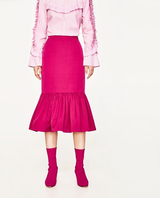 Wyprzedaż w Zarze - 10 modnych spódnic na lato (FOTO)