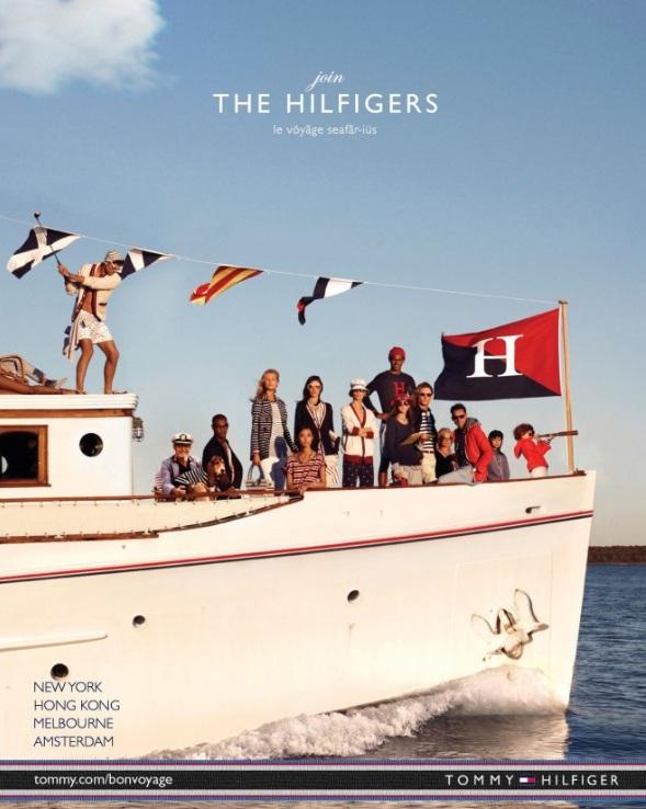 Kampanie Tommy'ego Hilfigera