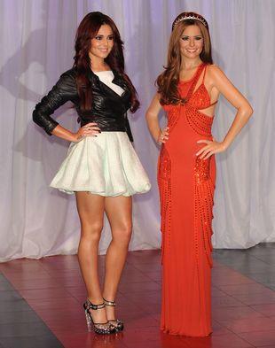 Cheryl Cole w miętowej sukience od Antonio Berardiego (FOTO)