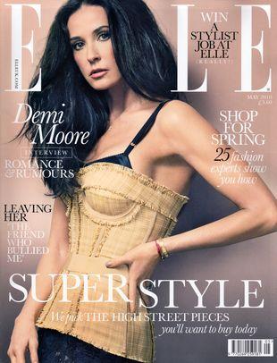 Demi Moore w Elle: Miałam coś robione