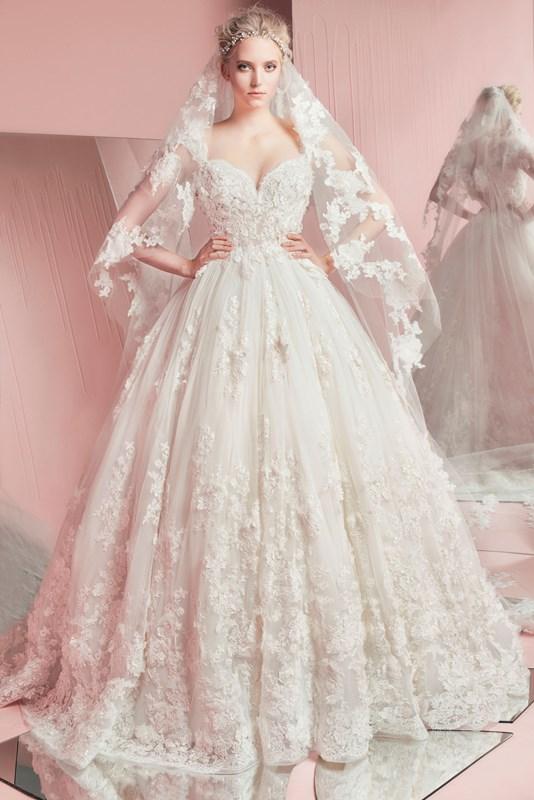 Zachwycające suknie ślubne na 2016 rok od Zuhaira Murada