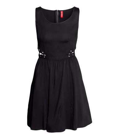 H&M - czarne sukienki - zima 2013/2014
