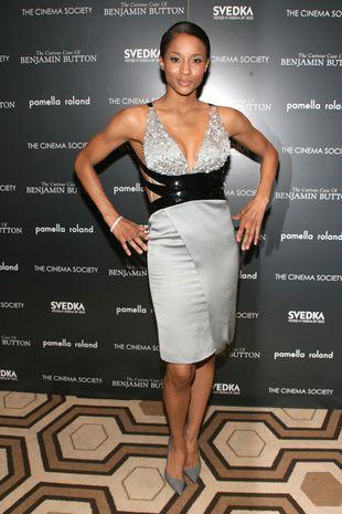Ciara w sukni od Armaniego
