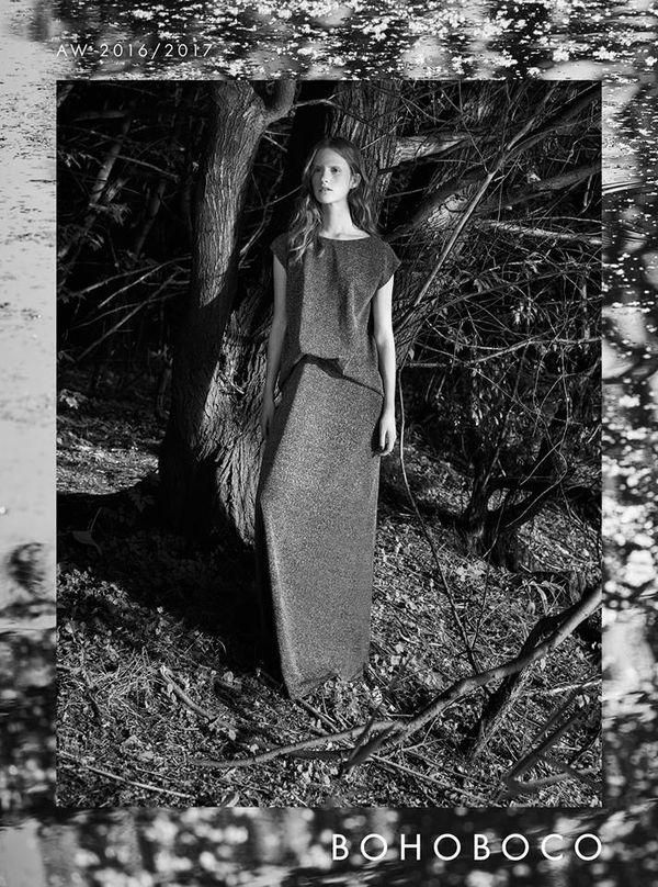 Piękna Magdalena Jasek w kampanii reklamowej AW16 od Bohoboco