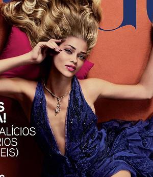 Ana Beatriz Barros na okładce portugalskiego Vogue