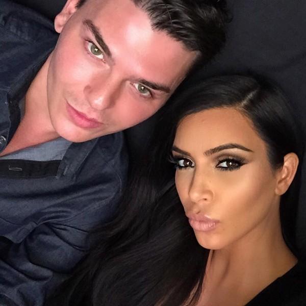 Zdziwisz się, jakiego tuszu używa wizażysta Kim Kardashian