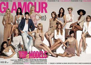 Uczestniczki Top Model 2 w Glamour