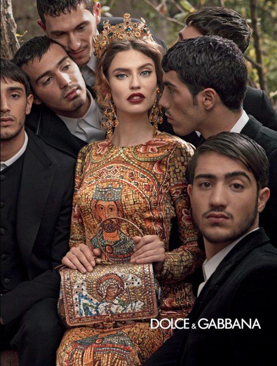 Bianca Balti w jesiennej kampanii Dolce&Gabbana