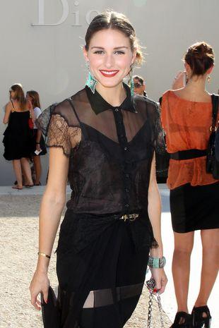 Olivia Palermo na pokazie Christiana Diora (FOTO)