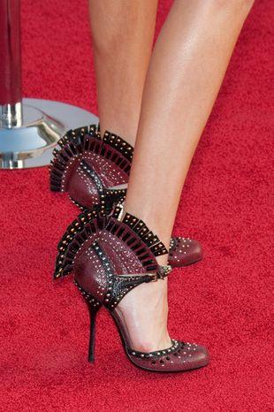 Prada - buty z indyczym ogonem