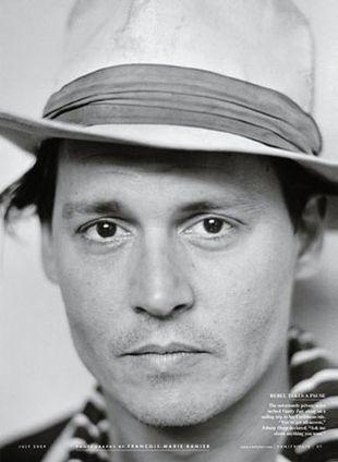Johnny Depp w prywatnym raju